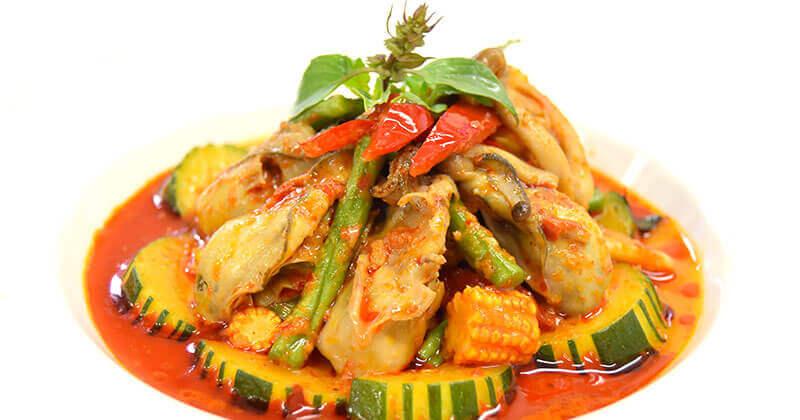 ナムプリック・ゲーンペット(レッドカレーペース)น้ำพริกแกงเผ็ด