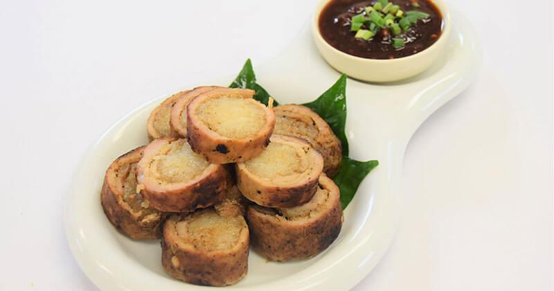 ムー・ヤーン・ホー・カオニャオ(もち米の豚肉巻き)หมูย่างห่อข้าวเหนียว